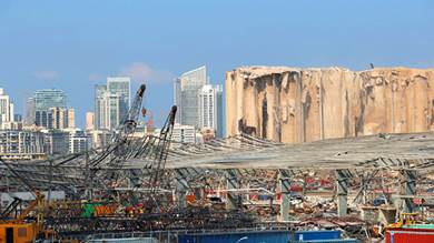 قطر تؤكد دعم لبنان في إعادة الإعمار بعد انفجار بيروت