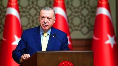الرئيس التركي رجب طيب أردوغان