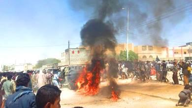 انفجار عبوة ناسفة في طقم تابع للواء 21 بعتق