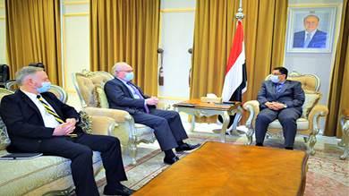 المبعوث الأمريكي: لا حل عسكري للوضع في اليمن