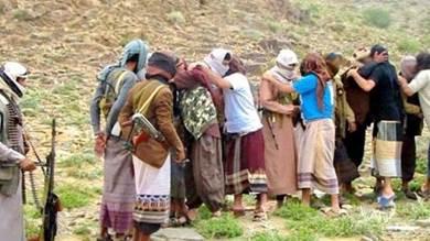 جانب من صفقة سابقة لتبادل الأسرى بين الحوثيين والقاعدة في البيضاء