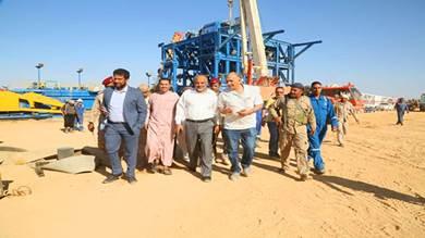 بدء المسح الزلزالي بأراضي القطاع 9 في حضرموت