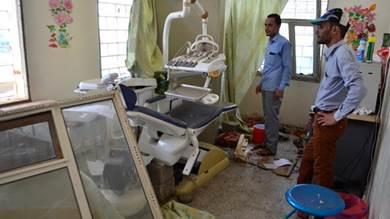 مستشفى تابعة لمنظمة أطباء بلا حدود في اليمن