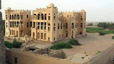 القصر كما يبدو وسط ظروف اليمن الراهنة