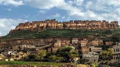 إحدى المناطق التي كان يقطنها اليهود في صنعاء