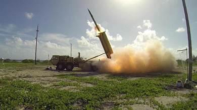 """نظام """"ثاد"""" الصاروخي الأميركي"""