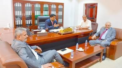 وزير الكهرباء يشكل لجنة فنية بخصوص كهرباء تعز