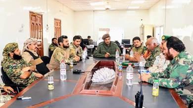 حزام عدن يشدد على ضرورة التنسيق بين الوحدات الأمنية
