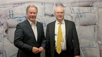 المبعوث الأميركي لليمن مع مدير برنامج الغذاء العالمي