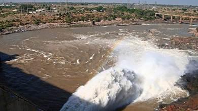 النيل الأزرق من السودان
