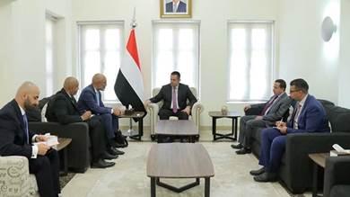 رئيس الوزراء اليمني يلتقي السفير الهولندي في اليمن