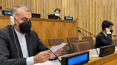 وزير الخارجية الإيراني، حسين أمير عبداللهيان