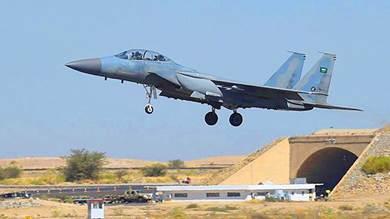 التحالف يعلن تدمير موقع إطلاق طائرات الحوثي المفخخة