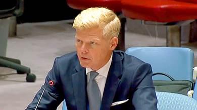 هانز جروندبيرج مبعوث الأمم المتحدة الخاص لليمن