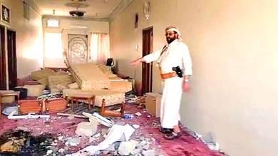 وزير الإعلام: الحوثيون قصفوا منزل محافظ مأرب بصاروخين