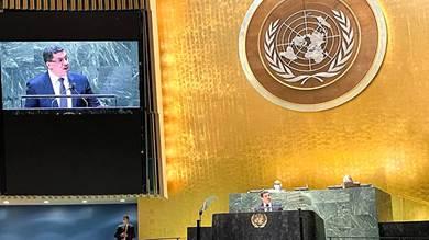 كلمة وزير خارجية اليمن أمام الجمعية العمومية للأمم المتحدة في نيويورك