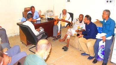 لجنة مراجعة صرفيات كهرباء لحج