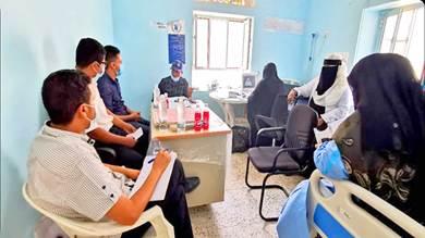 مساع لتعزيز دعم وتأهيل مستشفى الحصين بالضالع