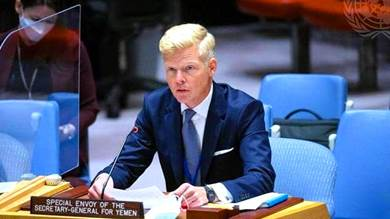 المبعوث الأممي إلى اليمن هانز جروندبيرج