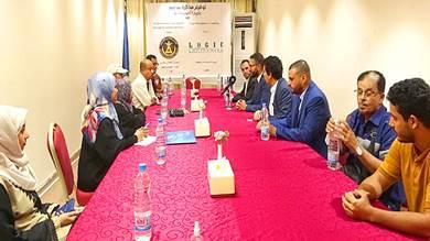 اللجنة الاقتصادية بالانتقالي توقع مذكرة مع شركة مصرية للاستشارات