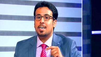 محمد الغيثي رئيس دائرة الشؤون الخارجية في المجلس الانتقالي الجنوبي