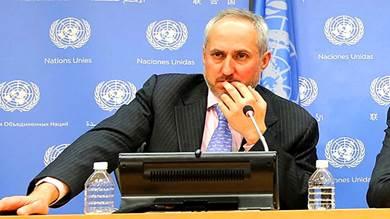 ستيفان دوجاريك المتحدث باسم الأمين العام للأمم المتحدة