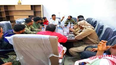 شراكة لتعزيز التنسيق الأمني بين مديريتين بعدن