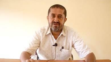 مدير مصلحة الأحوال المدنية بمديرية خنفر العقيد صالح عبدالدائم