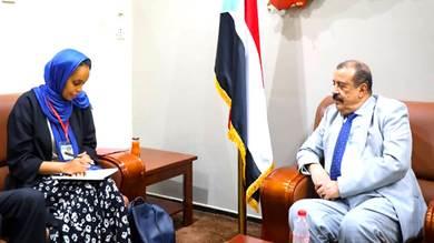 """اللواء بن بريك يناقش مع """"نداء جنيف"""" تعزيز حماية المدنيين أثناء الصراع"""