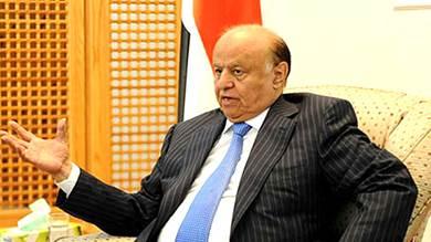 رئيس الجمهورية عبدربه منصور هادي