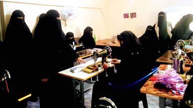 تدشين البرنامج التدريبي لتطوير المرأة في يافع