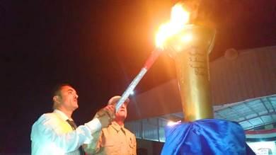 إيقاد شعلة ثورة أكتوبر بردفان احتفاء بذكراها الـ 58