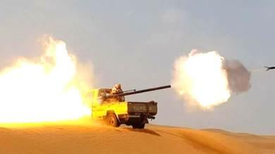 مدفعية الجيش تكبد الحوثيين خسائر كبيرة بجبهة الكسارة