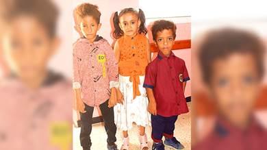 """صورة سابقة لموضوع نشرته """"الأيام"""" عن الأطفال المصابين بالتقزم"""