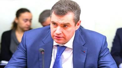 رئيس لجنة الشؤون الدولية في مجلس الدوما الروسي ليونيد سلوتسكي