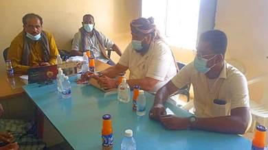 السلطات المحلية تناقش الوضع الصحي بالمسيلة في المهرة