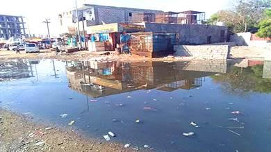 زنجبار تغرق في طفح مياه الصرف الصحي