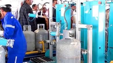 اتفاق جبايات على حساب أوزان تعبئة أسطوانات الغاز بتعز