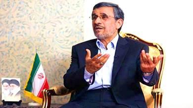 الرئيس الإيراني الأسبق محمود أحمدي نجاد