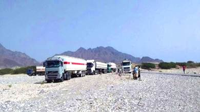 الحوثي يتسبب في توقف تهريب المشتقات النفطية من الجنوب إلى الشمال