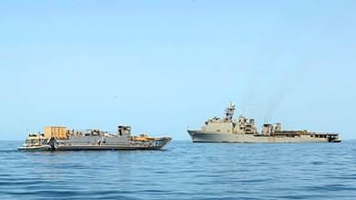 مناورة بين كوريا الجنوبية والاتحاد الأوروبي وعمان في خليج عدن
