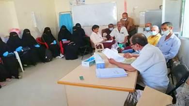 تأهيل 54 عاملًا صحيًا على مكافحة البلهارسيا بردفان