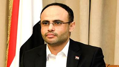 رئيس المجلس السياسي للحوثيين مهدي المشاط
