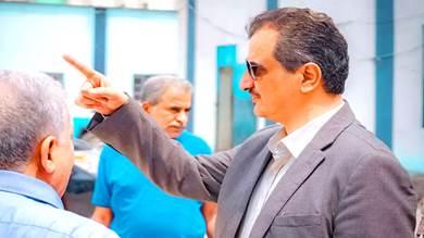 محافظ عدن يطالب بإغلاق المنشآت الرافضة تسديد الكهرباء