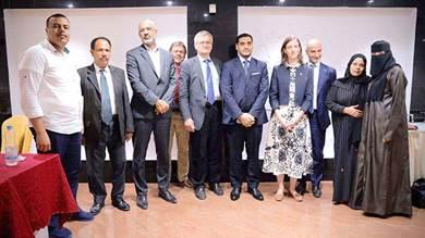 وفد الجامع يلتقي سفراء الاتحاد الأوروبي في عدن